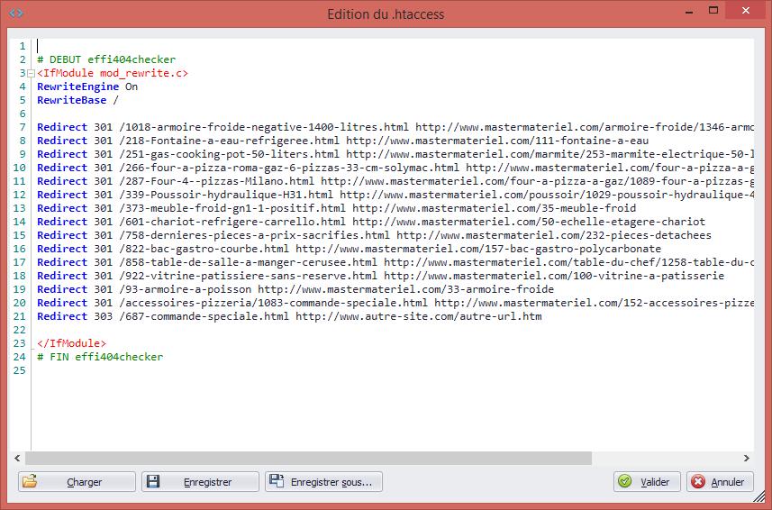 Mise à jour de votre fichier .htaccess automatique et sans doublons !